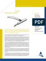 Isweek FOD Fiber Optic Linear Position and Displacement Sensor