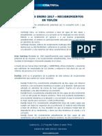 Diccionario Enero 2017 - Recubrimientos en Teflón