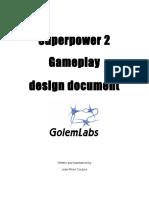 Superpower2 Gameplay Design Document - V1.1a