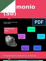 Antimonio (Sb)