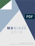 munique report 2016