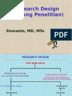 Research Design (Rancang Penelitian)