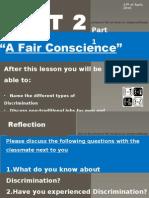 Ppt on Descrimination - Unit 2 Part 1