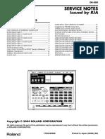 Dr 880 Service Notes