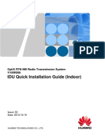 RTN 980 V100R006 IDU Quick Installation Guide (Indoor) 02