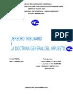 Derecho Tributario y La Doctrina General Del Impuesto Finanzas e Impuesto Sec. b Oscar Lopez 14317018
