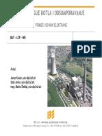 3_8_IBE_MSteblaj_Tehnologije Kotla i Odsumporavanje Primjer 300 MW Elektrane