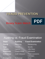 Binary Scam Watch Monitor Prevents Online Scam