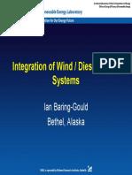 Wind Diesel Integration Ian Baring Gould NREL