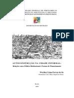 Autoconstrução Cidade Informal(2)