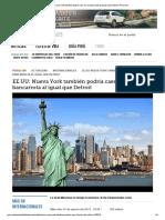 EE.UU_ Nueva York También Podría Caer en La Bancarrota