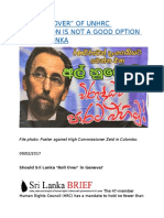 """ROLLING OVER"" OF UNHRC RESOLUTION IS NOT A GOOD OPTION FOR SRI LANKA.docx"