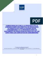 Comentarios de CCBE Sobre La Propuestas de ADR y ODR