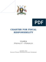 Uganda Charter for Fiscal Responsibility