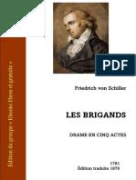 Schiller Les Brigands