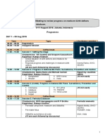 Programme-Regional Network Meeting