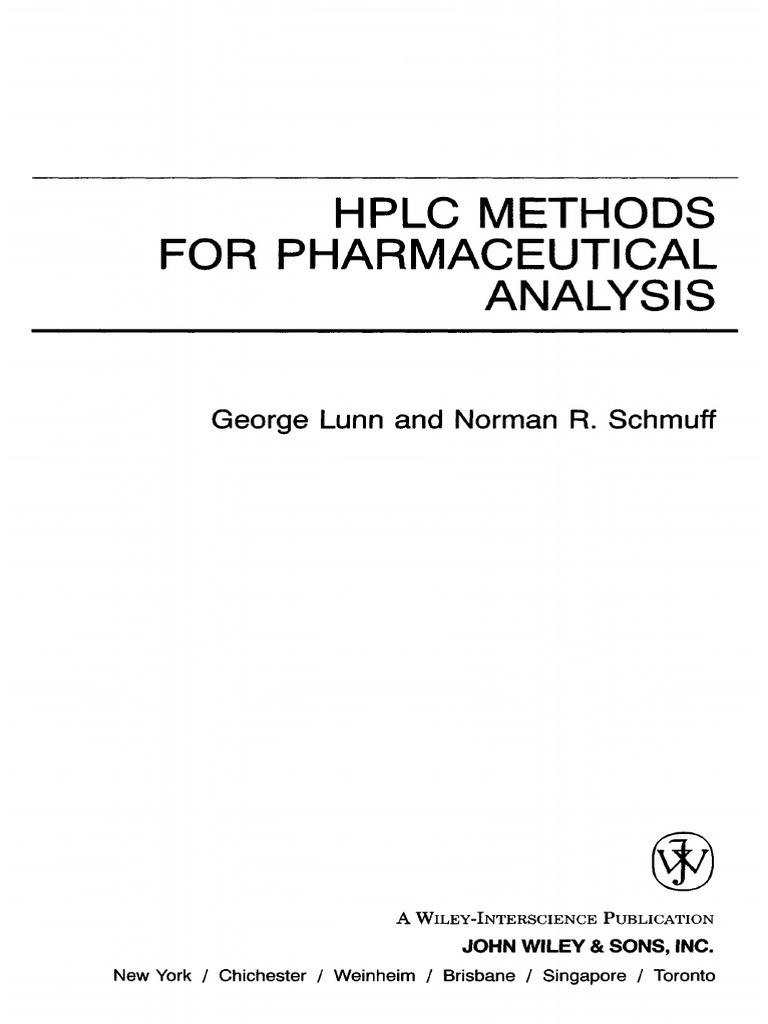Anal1995 Anna Ashley Porn hplc methods for   pharmacology   high performance liquid