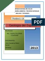 Geologia Del Espacio Exterior Ofifial