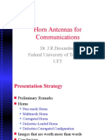 Horns for Communication
