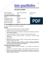 La Chimie Quantitative - Theorie - 2DF-2013