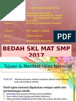 Bedahskl MAT SMP 2017