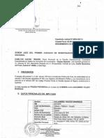 Requerimiento de Prision Preventiva Contra Alejandro Toledo Legis.pe