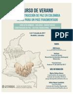 Brochure Escuela de Verano