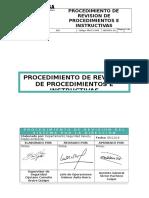 Procedimiento de Revision de Procedimimientos e instructivos.doc