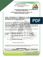 Requisitos Habilitantes Cmin 007 2012
