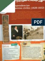 Unidad 06 - Independencias y Guerras Civiles (1820-1852)