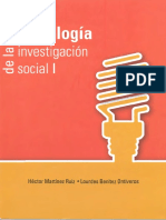 Metodologia de La Investigacion Social I - Lourdes Benitez Otivero