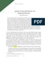 Article - Twelve Conceptions of Imagination (1)