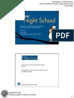 Night School 10 Session 6