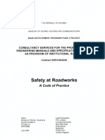 Safety at Roadworks - Code of Practice