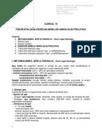 Curs 15 Fiziopatologia Dezechilibrelor Hidroelectrolitice