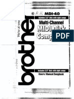 Brother Disk Composer MDI-40