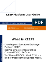 KEEP Platform User Guide