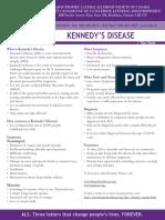 Kennedy's Disease
