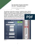 Echometer GasSeparatorSimulationProgram Information 2014 SWPSC