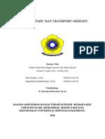 Fisiologi Paru Dan Transport Oksigen