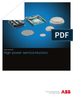ABB Semiconductors. High-power Semiconductors. Product Catalog. 2015