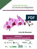 II SIMBRAORQUI - SIMPÓSIO BRASILEIRO DE ORQUÍDEAS