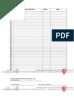 Difusión, Firmas de Enterado, Firmas de Entregado Material Didactico 2