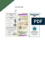 SAP Dan Leaflet Kehamilan Risiko Tinggi