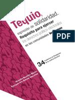 """Conoce el libro denominado """"Tequio, expresión de solidaridad. Requisito para ejercer los derechos político-electorales en las comunidades indígenas"""""""