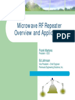 Microwave RF Repeater