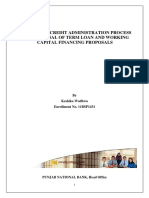 Analysis Of Credit Administration Process And Appraisal Of Term Loan And Working Capital Financing Proposals- By Keshika Wadhwa, Punjab National Bank..pdf