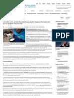 FAO -Noticias_La Leche y Los Productos Lácteos Pueden Mejorar La Nutrición de Los Pobres Del Mundo