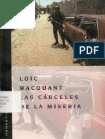 Wacquan Loic - Las Carceles de La Miseria