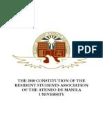 ARSA Constitution 2010